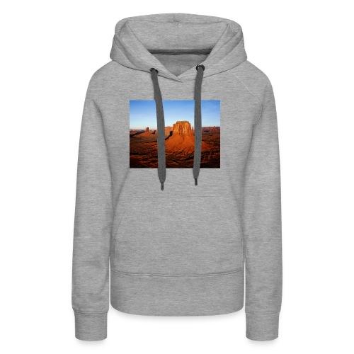 Desert - Sweat-shirt à capuche Premium pour femmes