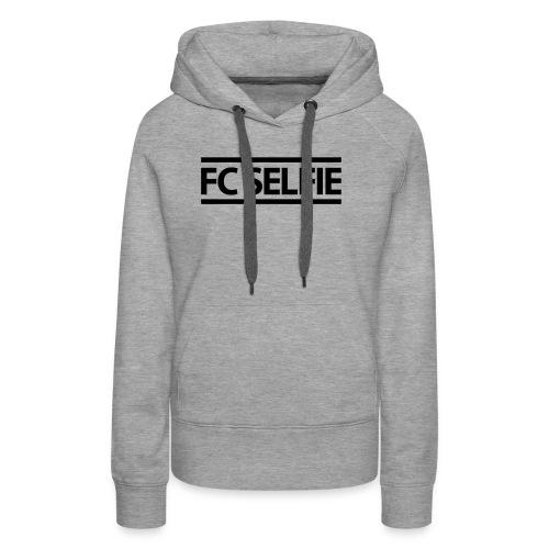 FCSELFIE Logo-Print - Frauen Premium Hoodie