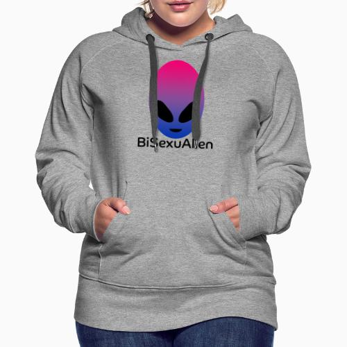 BiSexuAlien - Women's Premium Hoodie