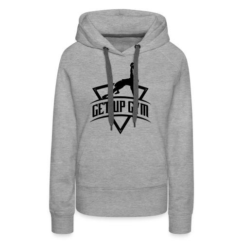 GetUpGymNoTagline - Frauen Premium Hoodie