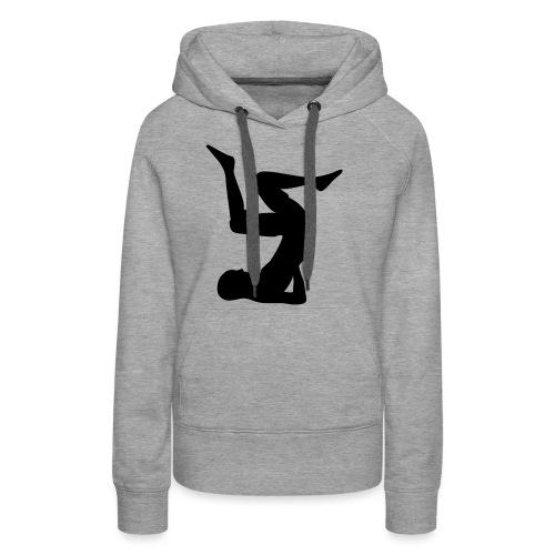 masterfitness_jogagirl_liegend - Frauen Premium Hoodie