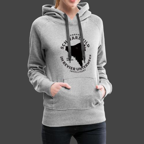 Schwarzwild im Revier-Shirt für Sauenjäger - Frauen Premium Hoodie