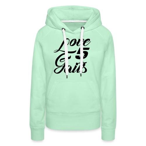 Love 5Gaits - Women's Premium Hoodie
