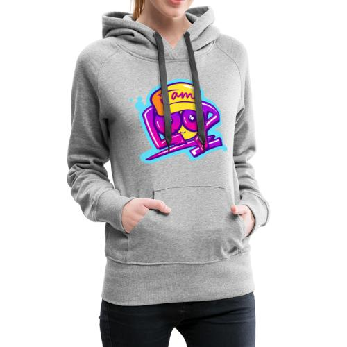 Graffiti I AM LOOP - Frauen Premium Hoodie