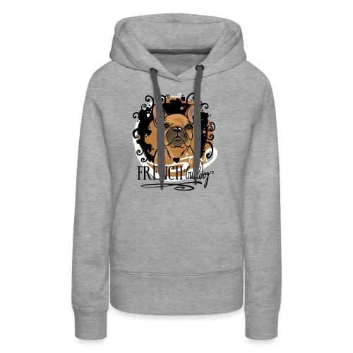 French Bulldog bunt - Frauen Premium Hoodie
