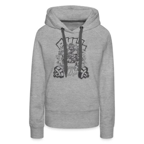Pull Schwarz - Frauen Premium Hoodie