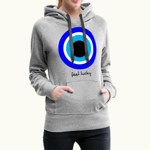 luck eye - Vrouwen Premium hoodie