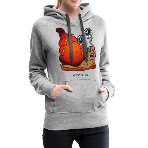 Mystified Crazy Snail - Vrouwen Premium hoodie