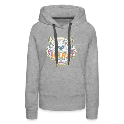 Hashtag fake Kenzo - Vrouwen Premium hoodie