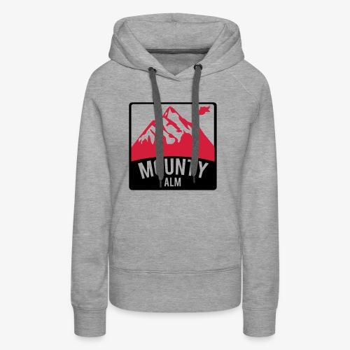 MountyAlm - Frauen Premium Hoodie