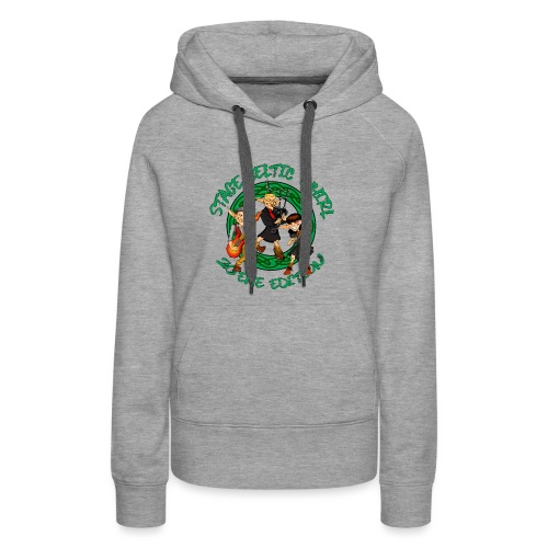 Celtic Whirl Stage - Sweat-shirt à capuche Premium pour femmes