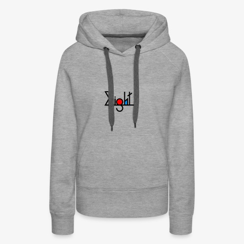 EIGHT LOGO - Sweat-shirt à capuche Premium pour femmes