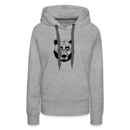 ours - Sweat-shirt à capuche Premium pour femmes