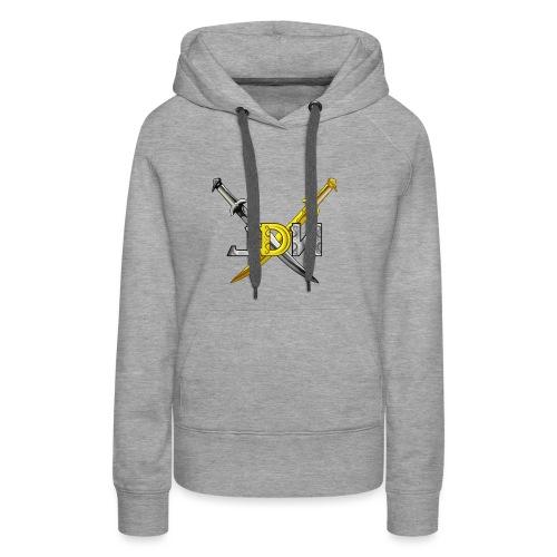 Jindeathwalk - Sweat-shirt à capuche Premium pour femmes