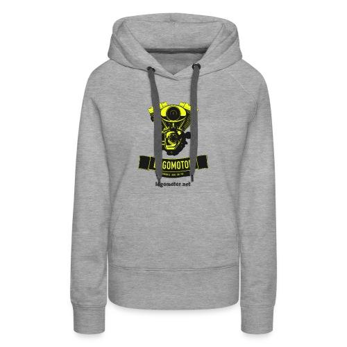 logomotor logo - Frauen Premium Hoodie