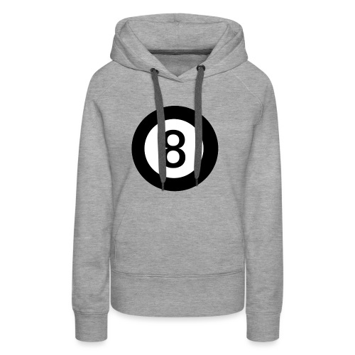 Black 8 - Women's Premium Hoodie