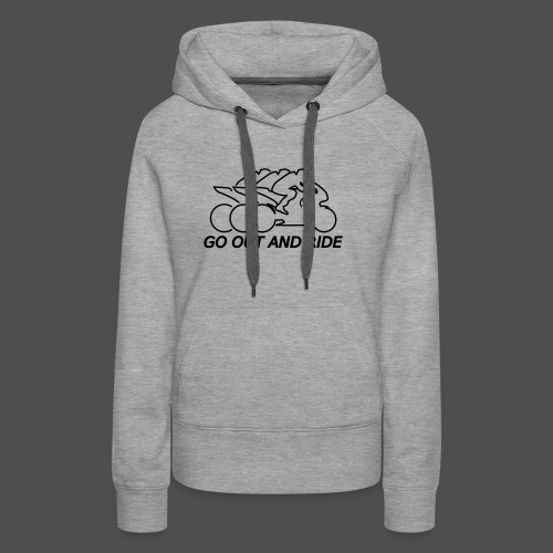 go out and ride superbike - Women's Premium Hoodie