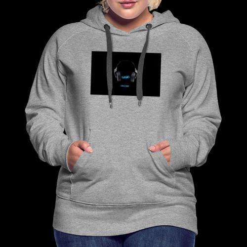 DJ - Sweat-shirt à capuche Premium pour femmes
