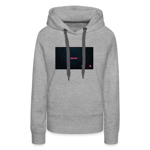 Ellis plays design merchandise - Women's Premium Hoodie