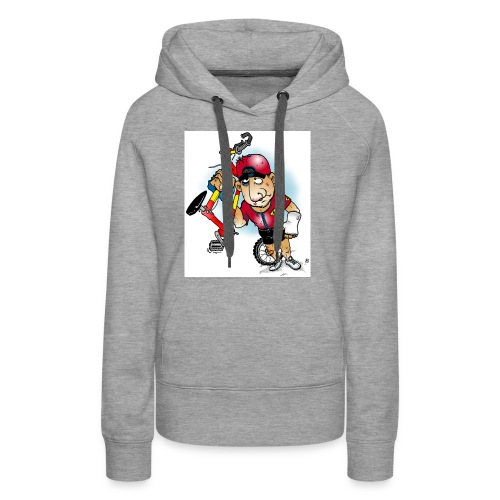 BoarderMax Bike Crash - Frauen Premium Hoodie