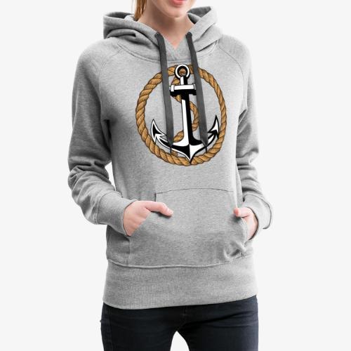 Anker Seil 65 - Frauen Premium Hoodie