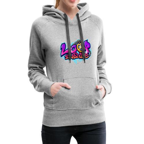 Loop Inside 3 - Frauen Premium Hoodie