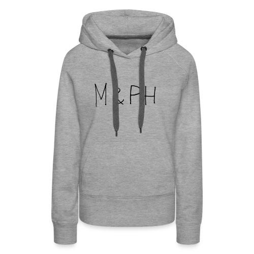Logo M&PH - Sweat-shirt à capuche Premium pour femmes