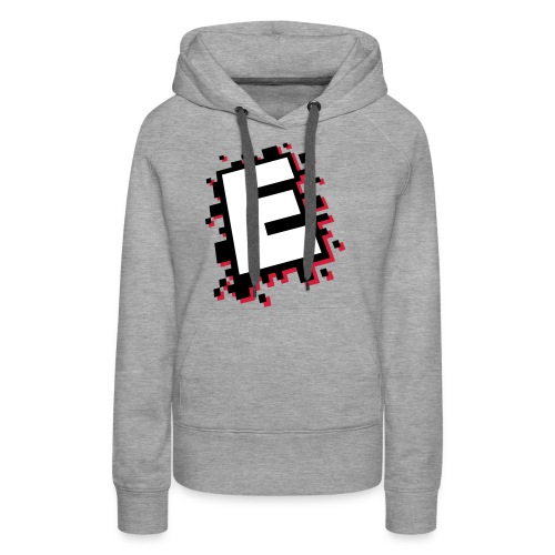design_E_white_black_pink - Women's Premium Hoodie