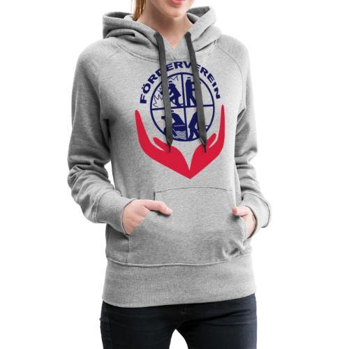 Symbol_FVFFG_3Color_NEU - Frauen Premium Hoodie