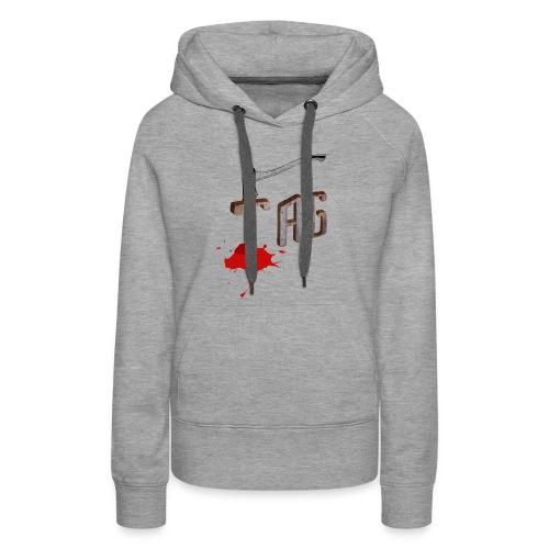 Hache Tag - Sweat-shirt à capuche Premium pour femmes