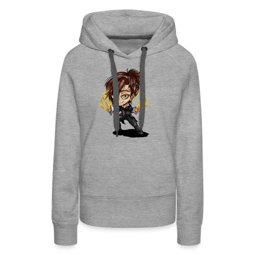 Chibi Hero - Sweat-shirt à capuche Premium pour femmes
