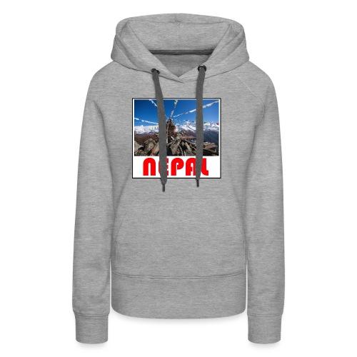 Nepal T-shirt - Women's Premium Hoodie