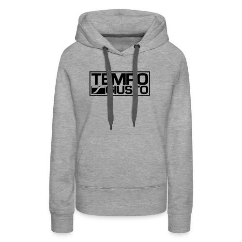 Tempo Giusto Rectangle - Women's Premium Hoodie