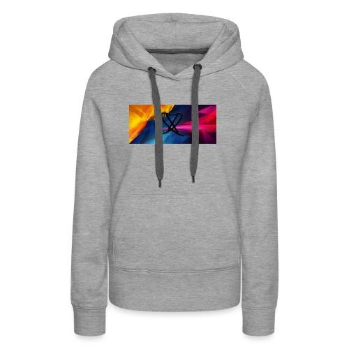 Box_logo_2 - Dame Premium hættetrøje