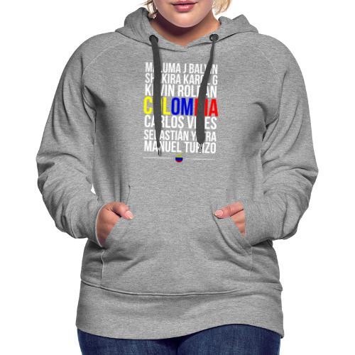 Reggaeton Shirt Kolumbien - Frauen Premium Hoodie