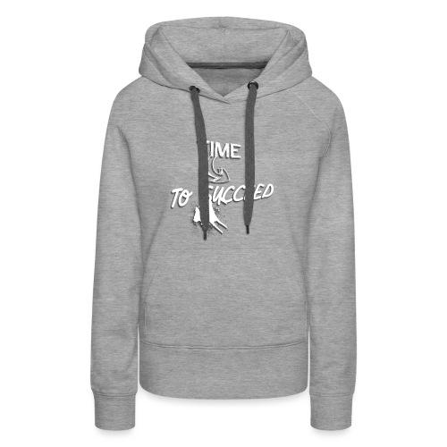 Het tijd - Vrouwen Premium hoodie