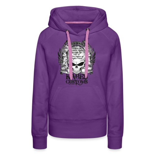 Kabes Tiptoe T-Shirt - Women's Premium Hoodie