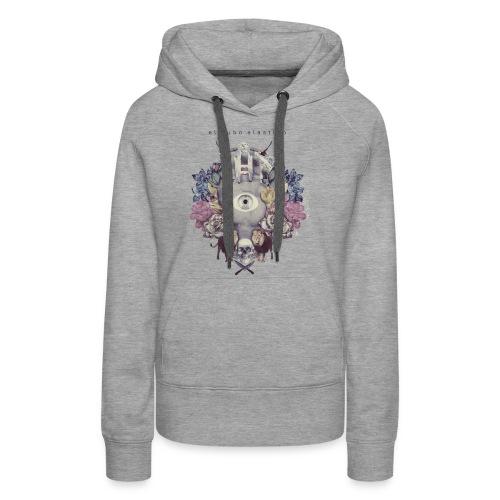 camisetafinal - Sudadera con capucha premium para mujer