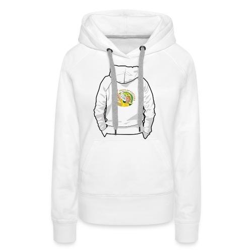 hoodyback - Vrouwen Premium hoodie