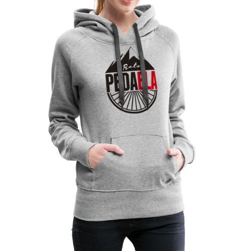PEDAELA - Sudadera con capucha premium para mujer
