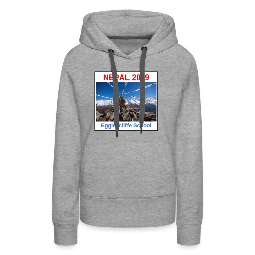 Nepal Egglescliffe School T-shirt Version 1 - Women's Premium Hoodie
