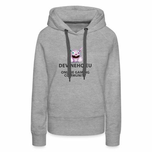 Our crazy gaming logo - Vrouwen Premium hoodie