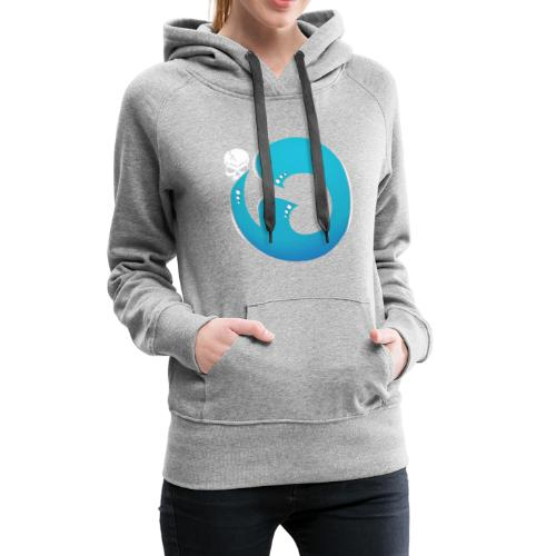 Logo iG   Team Esport - Sweat-shirt à capuche Premium pour femmes
