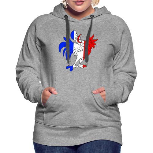 Coq France - Sweat-shirt à capuche Premium pour femmes