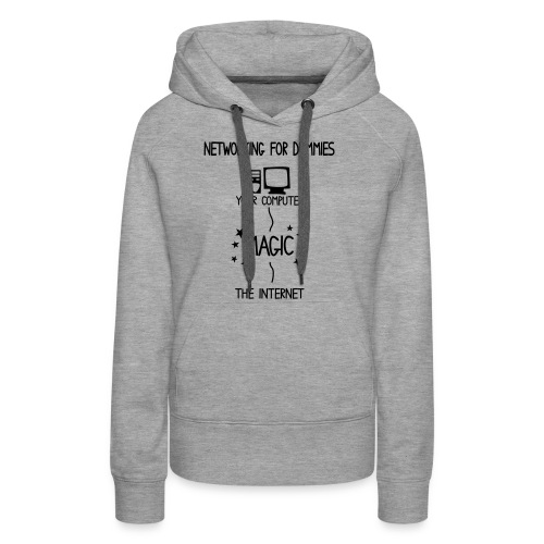 Network Schematic for Dummies - Women's Premium Hoodie