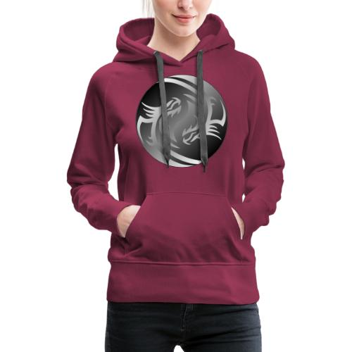 Yin Yang Dragon - Women's Premium Hoodie