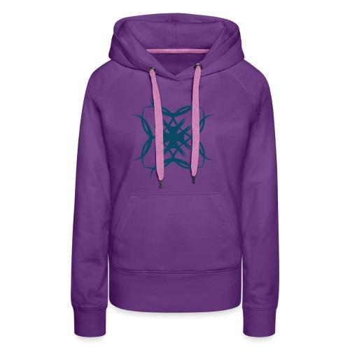 Ritter Kreuz - Frauen Premium Hoodie