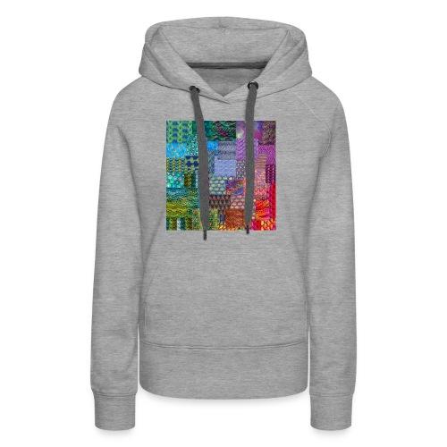 Knitting a rainbow - Premiumluvtröja dam