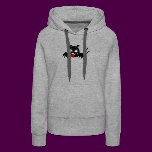 monster - Sudadera con capucha premium para mujer