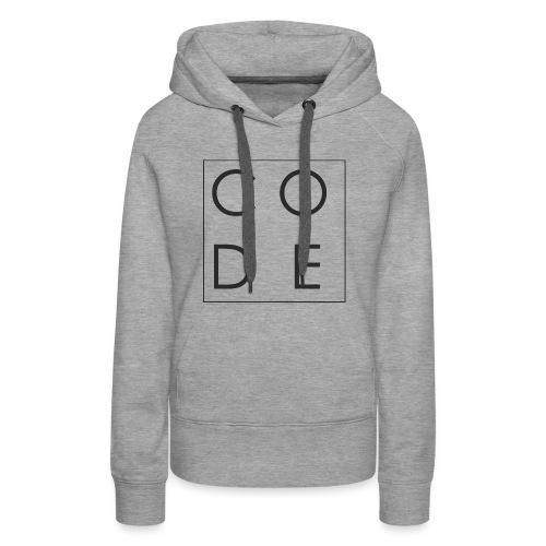 CODE - Women's Premium Hoodie